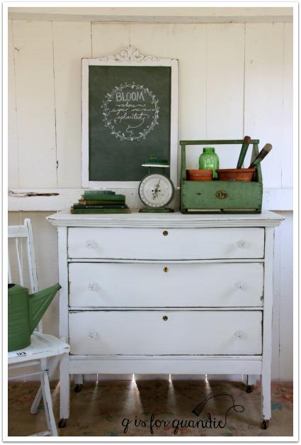 potting shed dresser 1