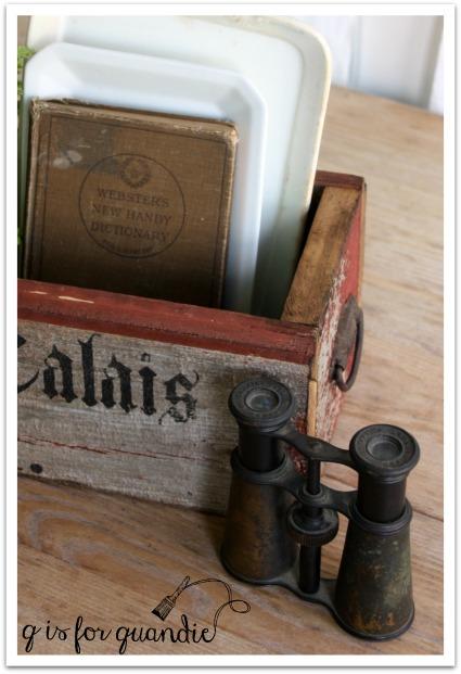 barn wood box waxed edge