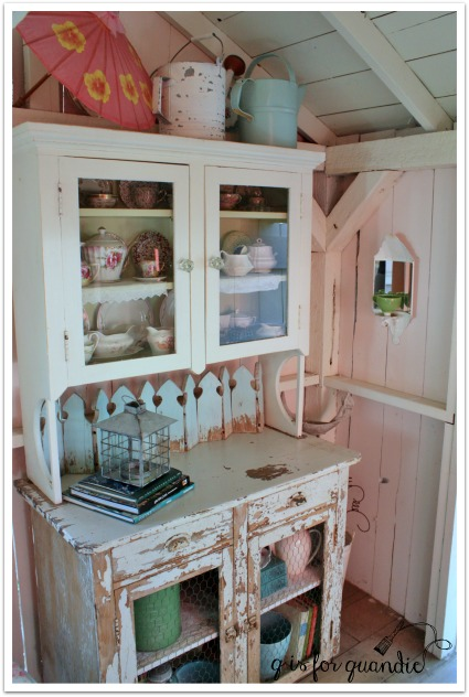 potting shed cupboard