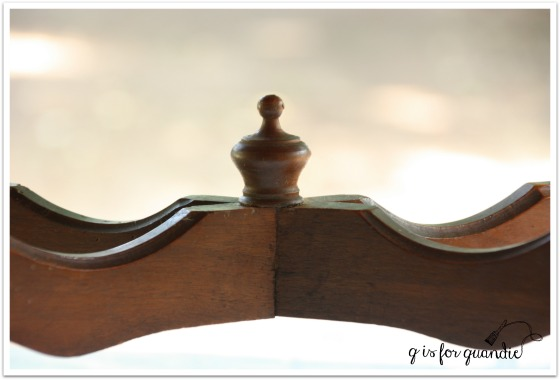 finial before