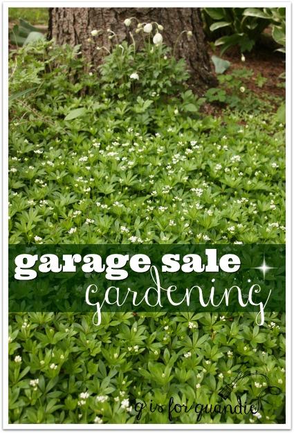 garage sale gardening