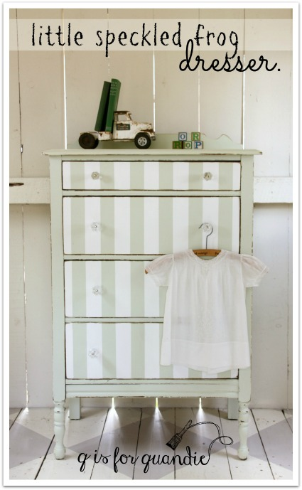 little speckled frog dresser