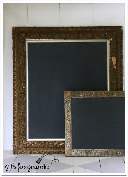 chalkboards closeup 2