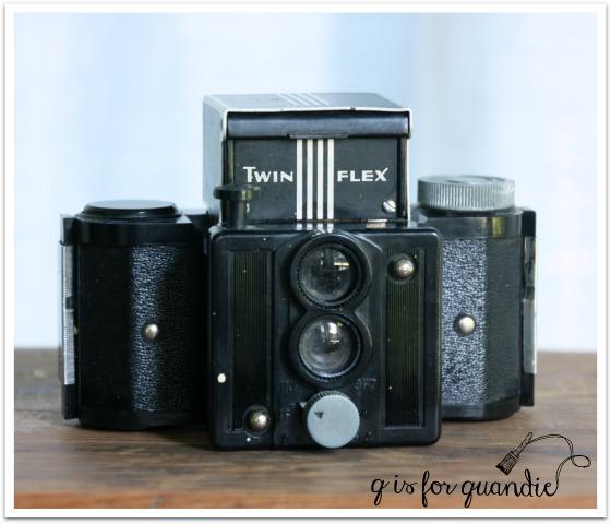 vintage camera twin flex