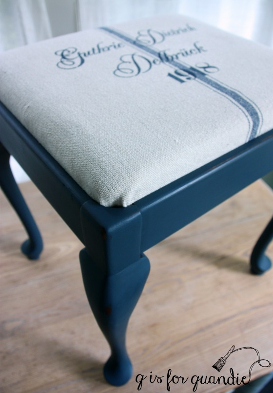 blue stool 2