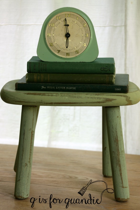 lucketts green stool