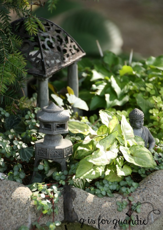 late summer fairy garden