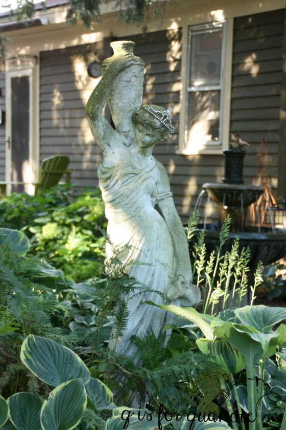late summer statue