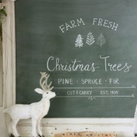 farm fresh chalkboard.