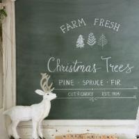 farm fresh chalkboard.