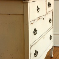 the buttermilk cream dresser.