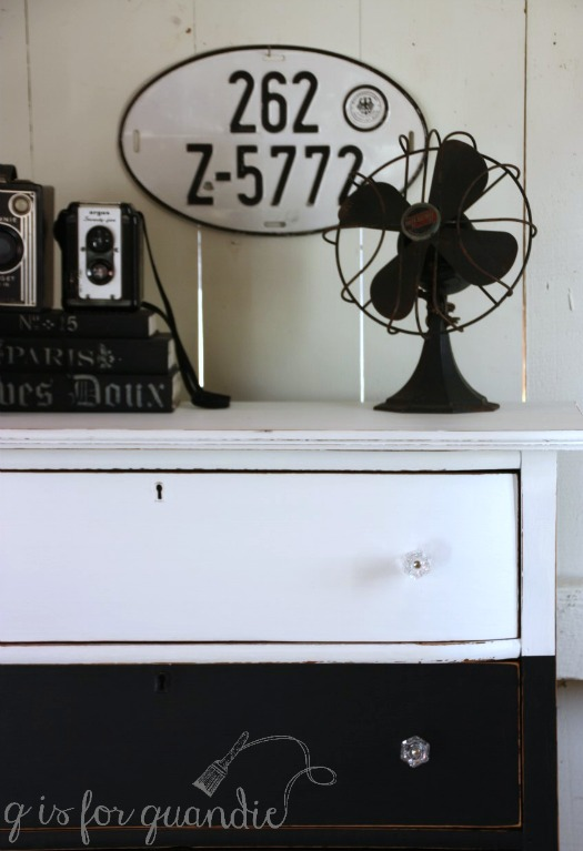 black-white-dresser-with-fan