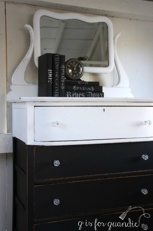 black-white-dresser-with-mirror