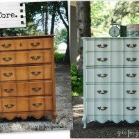 a pretty french provincial dresser.