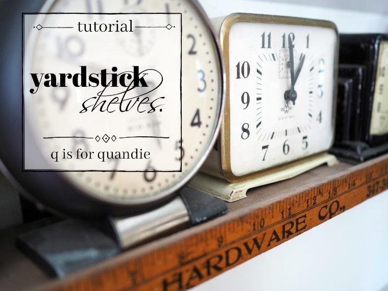 Yardstick Shelves Q Is For Quandie