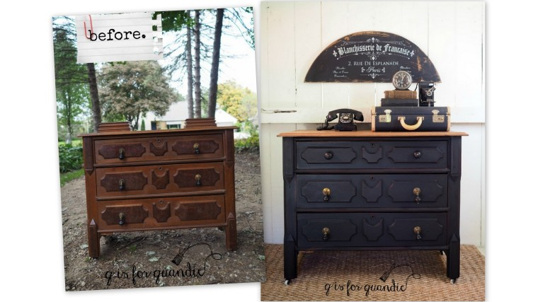 fab furniture (before & after).