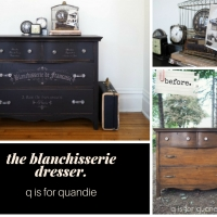 the blanchisserie dresser.