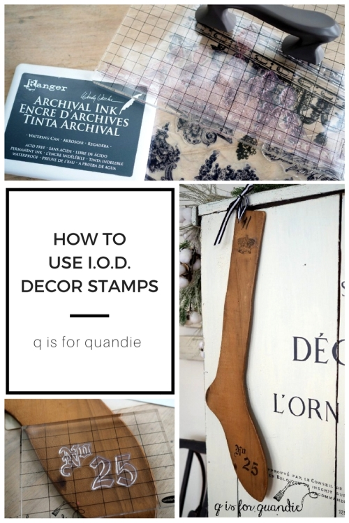 IOD stamps