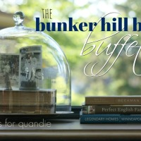 the bunker hill blue buffet.