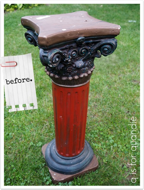... Garden Pedestal At The White Bear Lake Trash To Treasure Day. You Can  Click That Link To Read More About Trash To Treasure Day, But Suffice To  Say, ...