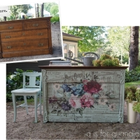 the imperial garden dresser.