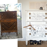 the lovely ledger dresser.