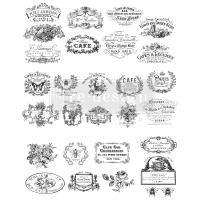classic vintage labels.