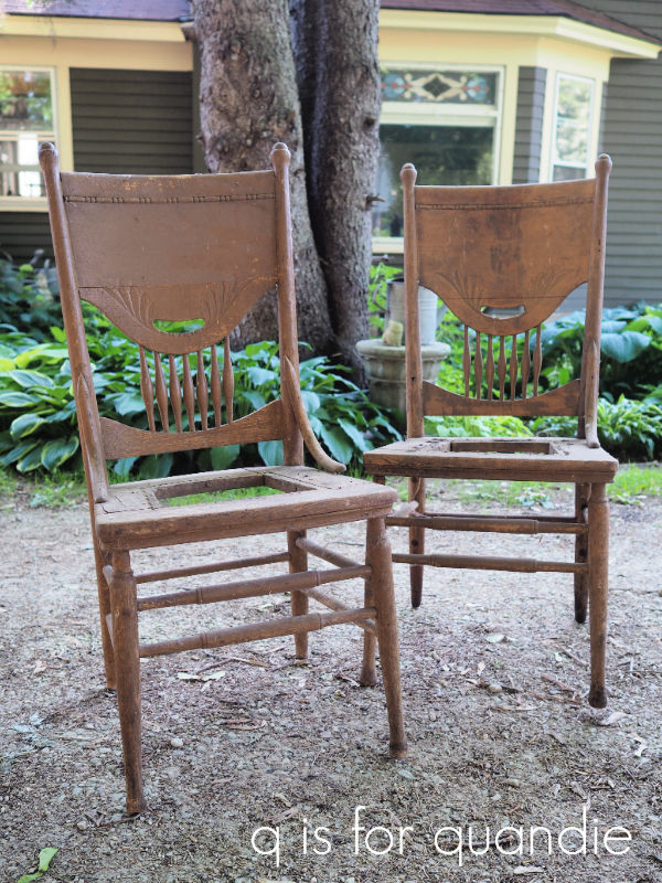 pair of planter chairs