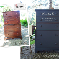 the easy way to paint furniture.